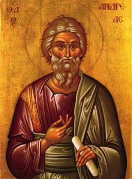 Happy Saint Andrew s Day  - Saint Andrew Icon Orthodox.jpg